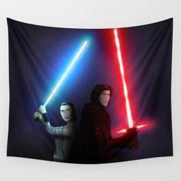 Lights Up Wall Tapestry