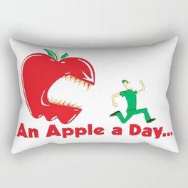 An Apple A Day... Rectangular Pillow