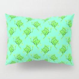 Frog Pattern Pillow Sham