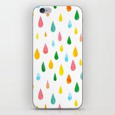 Happy Rain iPhone & iPod Skin