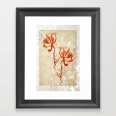 flower3 Framed Art Print
