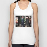 pasta Tank Tops featuring Pasta Day by Josh Ethan Johnson