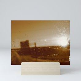 Through Smudged Glass Mini Art Print