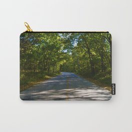 The road to Point Pelee National Park, Ontario Canada Carry-All Pouch