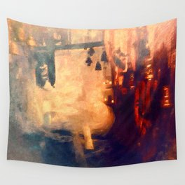 Deep indian cave bells Wall Tapestry