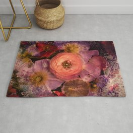 Sugared Ranunculus Rug