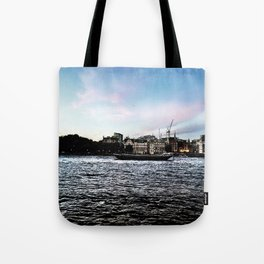 A London Love Story Tote Bag