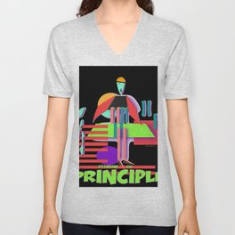 STANDING ON PRINCIPLE Unisex V-Neck