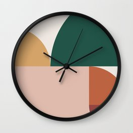 Abstract Geometric 11 Wall Clock
