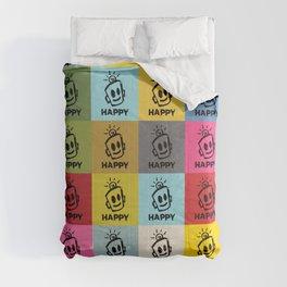 HAPPY SQUARES Comforters