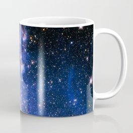 Blue Embrionic Stars Coffee Mug