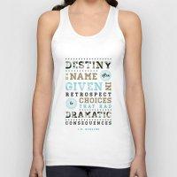 destiny Tank Tops featuring Destiny by Megan Matsuoka
