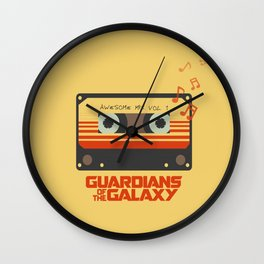 Awesome mix vol.1 Wall Clock