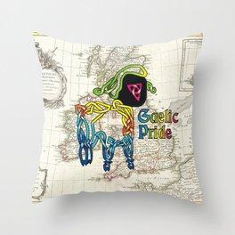 Gaelic Pride Lamb Knot Throw Pillow