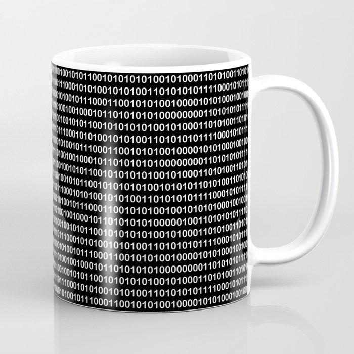 Binary Code in DOS Coffee Mug