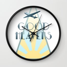 Good Heavens! Wall Clock