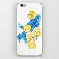 ukraine iPhone & iPod Skins featuring Ukraine by Goga Alexandra