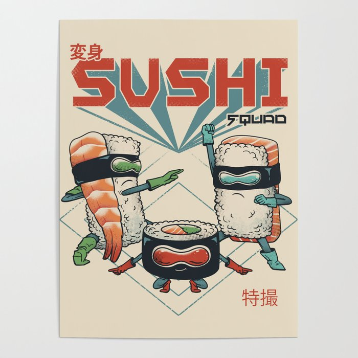 Sushi Squad Poster