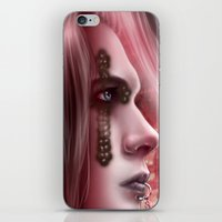 sex and the city iPhone & iPod Skins featuring Sex by Miguel Angel Carroza