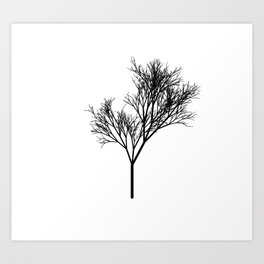 Tree Two Art Print