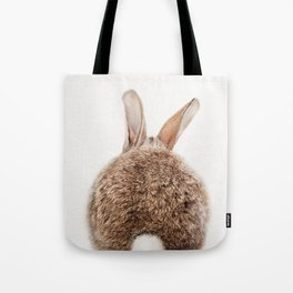 Bunny Tail, Bunny Rabbit, Baby Animals Art Print By Synplus Tote Bag