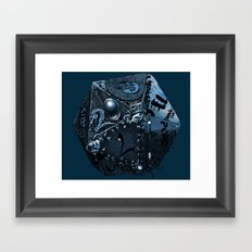 The Polyhedral of many universes  Framed Art Print