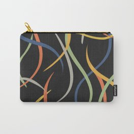 Matisse Ribbon - Black Carry-All Pouch