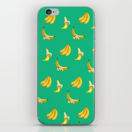 Banana mint coctail iPhone Skin