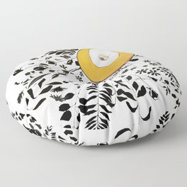 Earth Abstract Floor Pillow