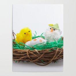Easter nest Poster