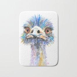 Emu bird Bath Mat