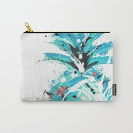 Teal Twist pineapple Carry-All Pouch
