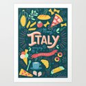 Missing Italy everyday poster by valeriaeffe