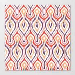 Sketchy Ikat - Nebula Canvas Print