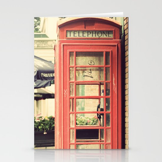 London calling ... Stationery Cards