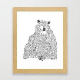 Bear2 Framed Art Print