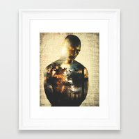 tupac Framed Art Prints featuring Tupac by Cody Norris