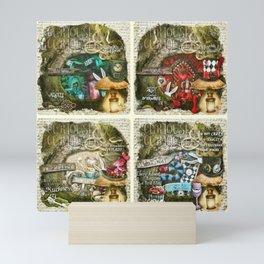 Alice of Wonderland Series Mini Art Print