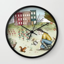Brooklyn's life Wall Clock