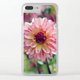 Dahlia / In The Garden / 13 Clear iPhone Case