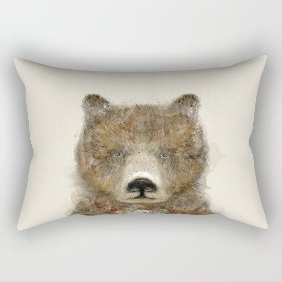 the grizzly Rectangular Pillow