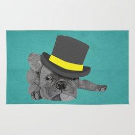 Dapper Dog - French Bulldog Rug