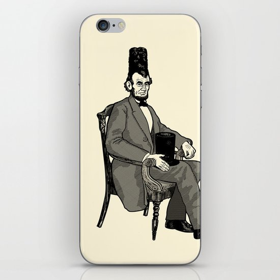 Hat Head iPhone Skin