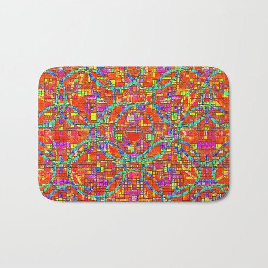 Verre Colore Pattern Bath Mat