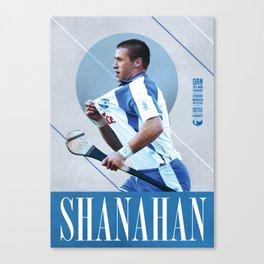 GAA Posters – Dan Shanahan Canvas Print