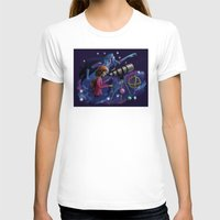 astronomy T-shirts featuring Muse of Astronomy by Jessica Chrysler