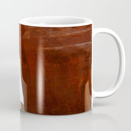 At The End Of The Trail - Pine Tree Arch Coffee Mug