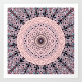 Circumfrences Art Print