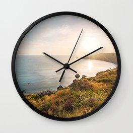 Light of Sicily Wall Clock