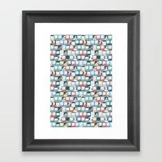 Car Dogs Framed Art Print